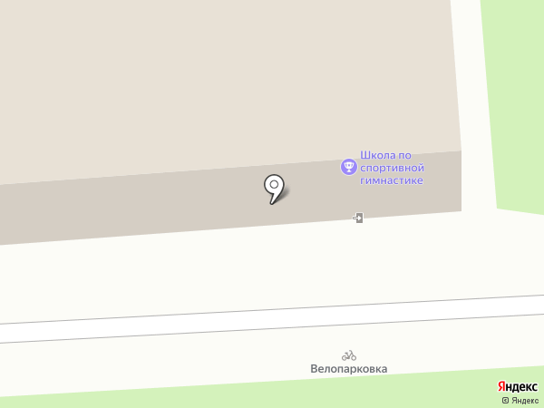 СДЮСШОР по спортивной гимнастике на карте Брянска