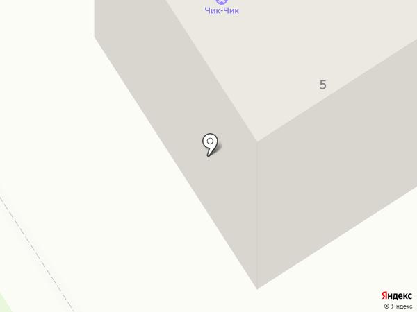 Магазин женского трикотажа на карте Петрозаводска