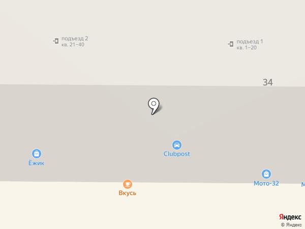 ЁЖИК на карте Брянска