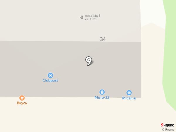 m-car.ru на карте Брянска