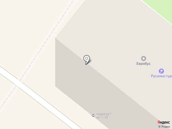 Салон мобильной связи на карте Брянска