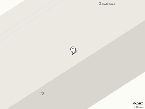 Аарон на карте Петрозаводска