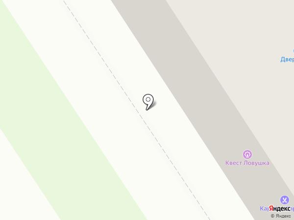 ДОРС на карте Петрозаводска