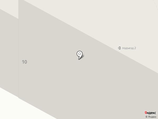 Свиристель на карте Петрозаводска