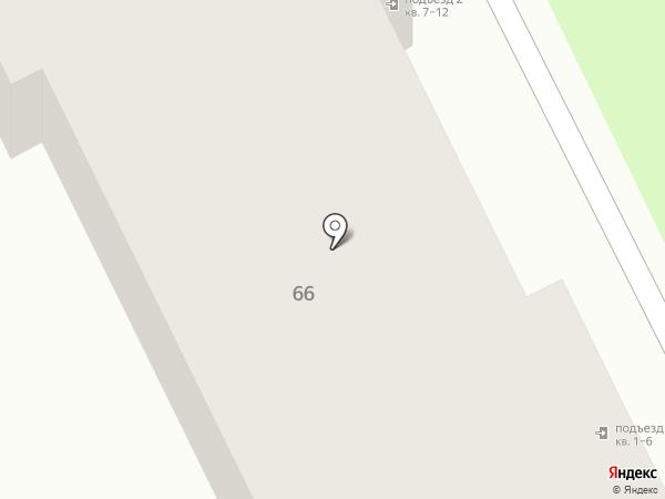 Квартал на карте Брянска