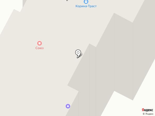 Ателье на ул. Дуки на карте Брянска
