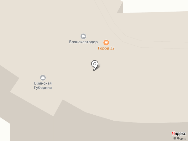 ОбщепитСервис на карте Брянска