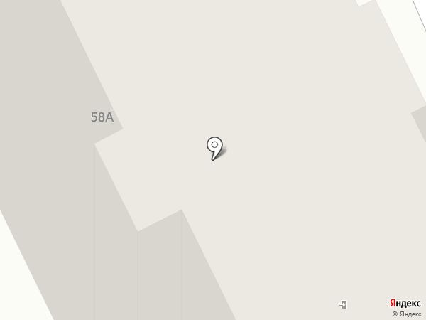 Азон на карте Брянска