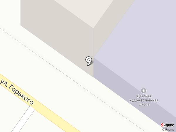 Брянская детская художественная школа на карте Брянска
