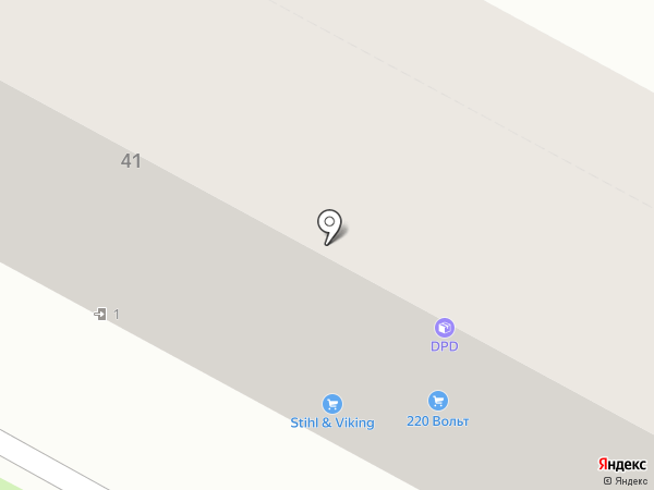 Андерсон на карте Брянска