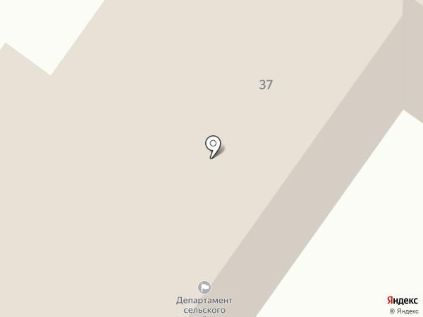 Департамент сельского хозяйства Брянской области на карте Брянска