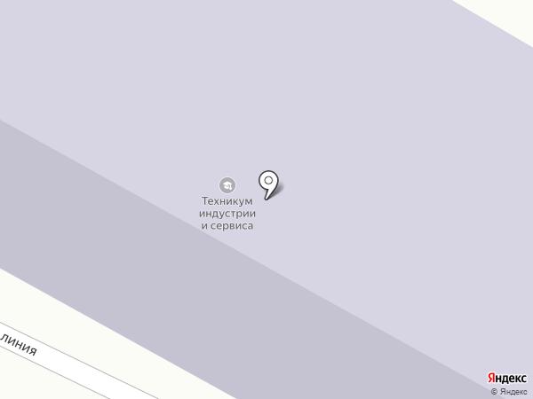 Брянский техникум индустрии сервиса на карте Брянска
