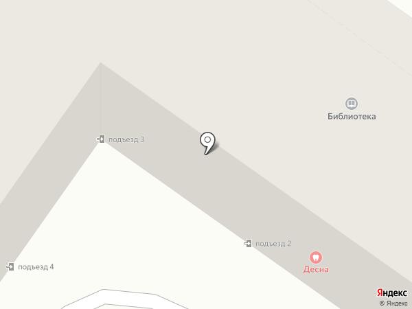 Гнездо на карте Брянска
