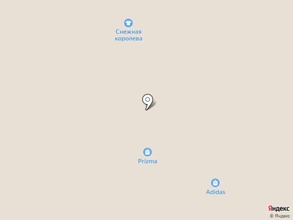 Bershka на карте Петрозаводска