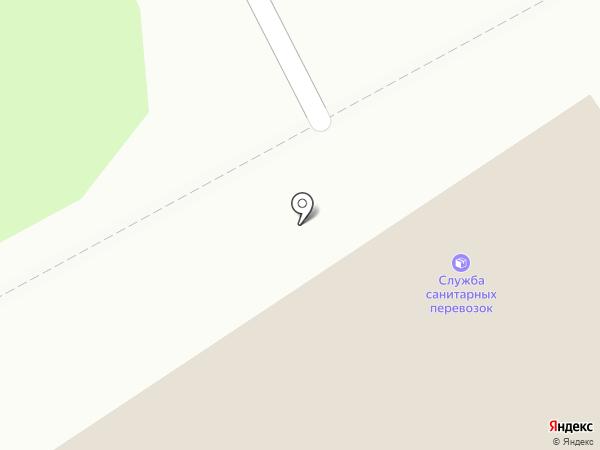 Социальная медтехника №1 на карте Петрозаводска