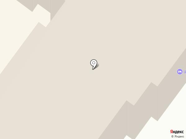 Центральное на карте Брянска