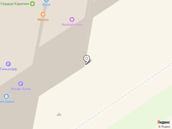 Банкомат, АКБ Связь-банк, ПАО на карте Петрозаводска