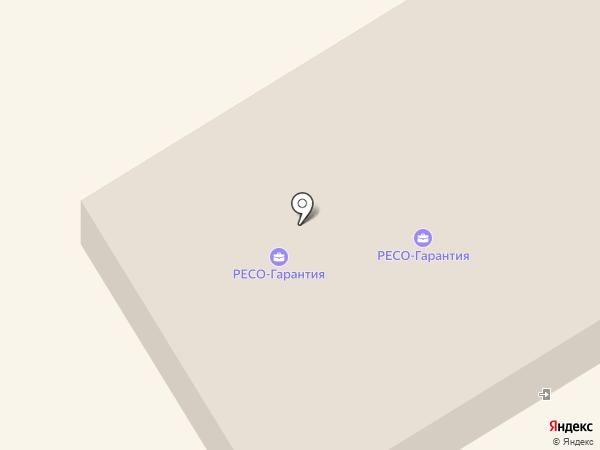 РЕСО-Гарантия на карте Петрозаводска