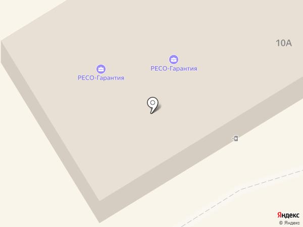РЕСО-Гарантия, СПАО на карте Петрозаводска