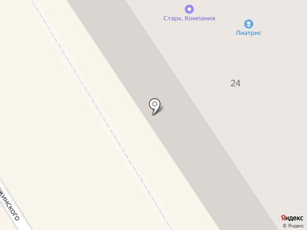 Студия красоты Яны Полетаевой на карте Петрозаводска