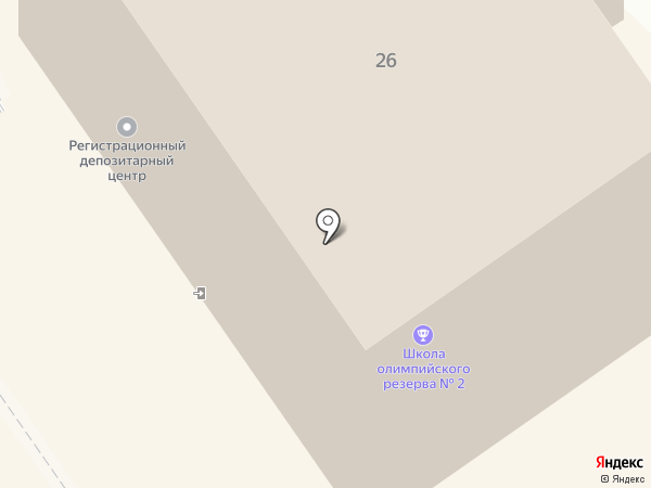 Шахматная школа на карте Петрозаводска