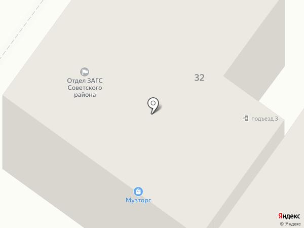 Колизей на карте Брянска