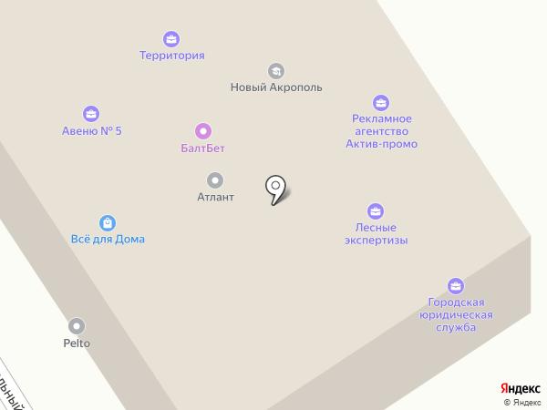 ВР-Строй на карте Петрозаводска