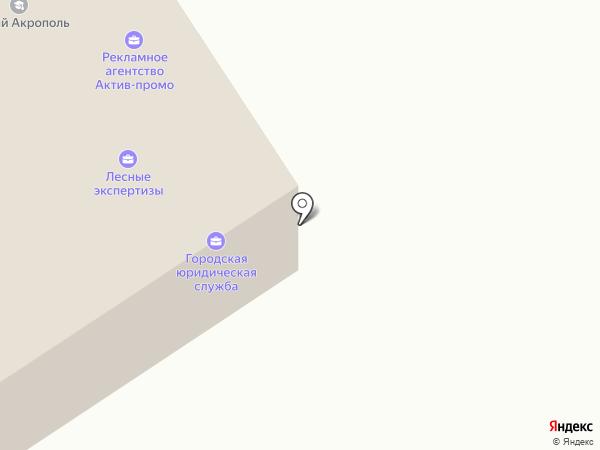 Территория на карте Петрозаводска