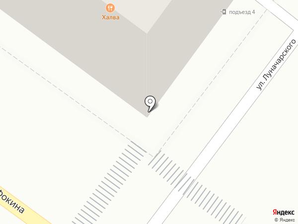 Чайка на карте Брянска