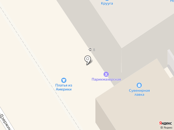 Клен на карте Петрозаводска