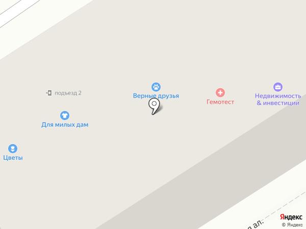 Лана на карте Петрозаводска