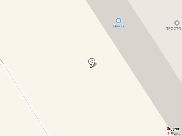 Невис на карте Петрозаводска