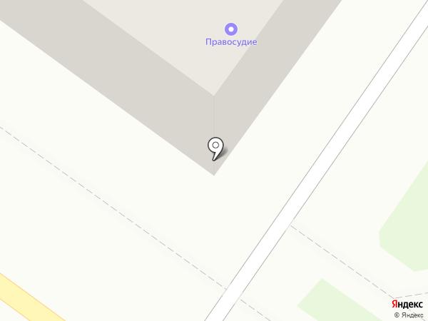 Салынь на карте Брянска