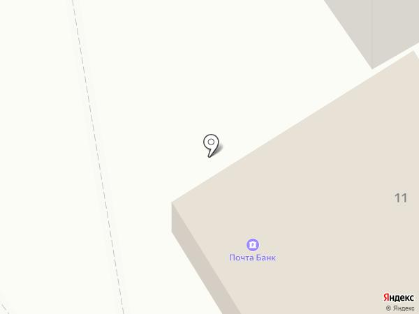 Почтовое отделение №26 на карте Петрозаводска
