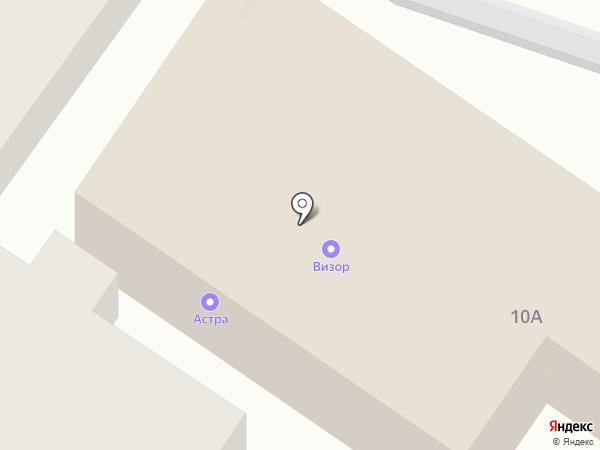 Альянс-М на карте Брянска