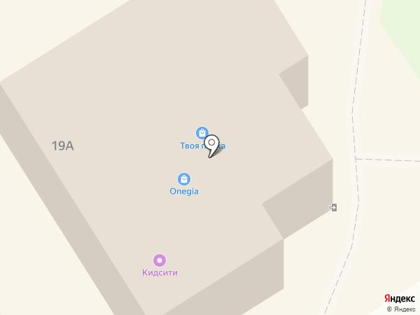 В.О.Я.Ж. на карте Петрозаводска