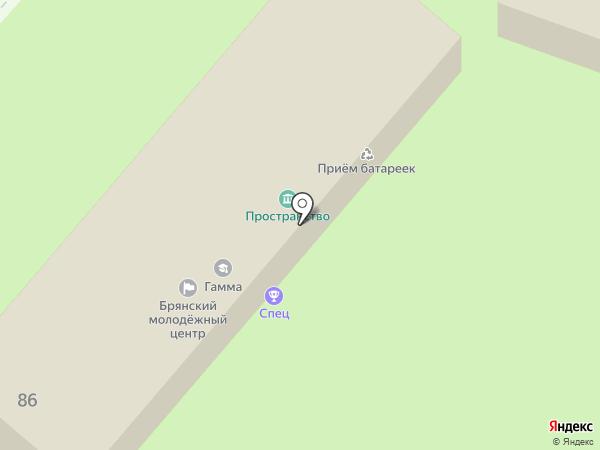 SKORPION32 на карте Брянска