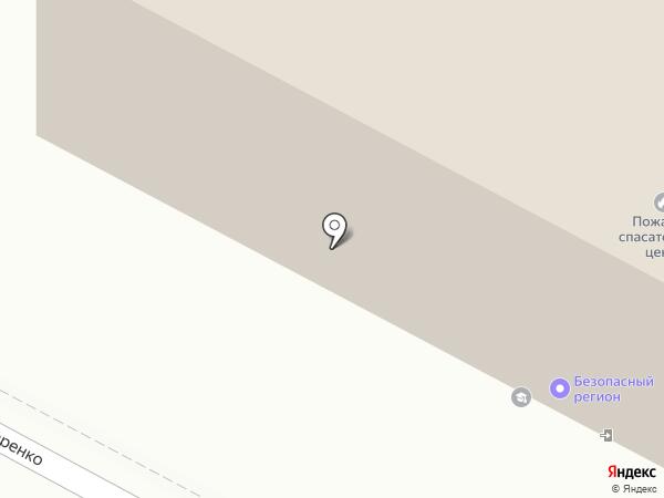 Брянский пожарно-спасательный центр на карте Брянска
