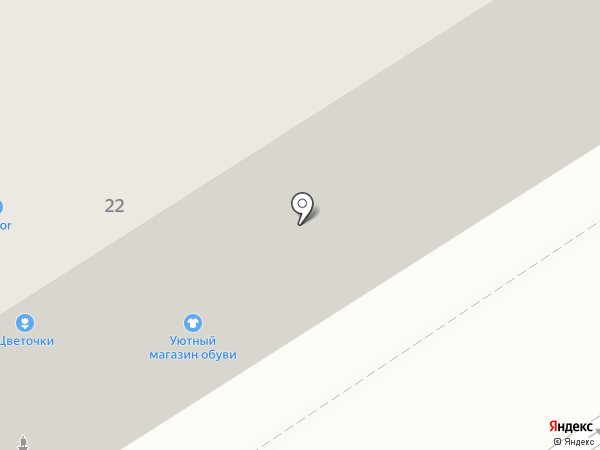 Уютный на карте Петрозаводска