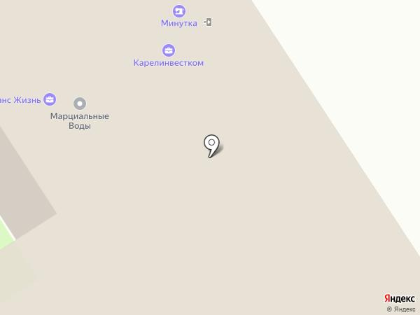 Карельская республиканская организация профсоюза работников культуры на карте Петрозаводска