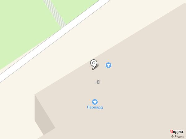 Магазин верхней одежды на карте Петрозаводска