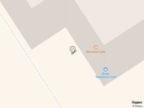 Macaron Cafe на карте Петрозаводска