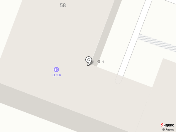 ИЛЬИНЪ на карте Брянска