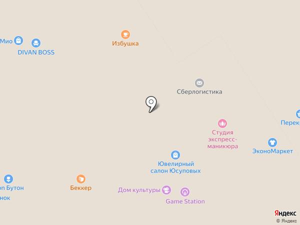 Север на карте Петрозаводска