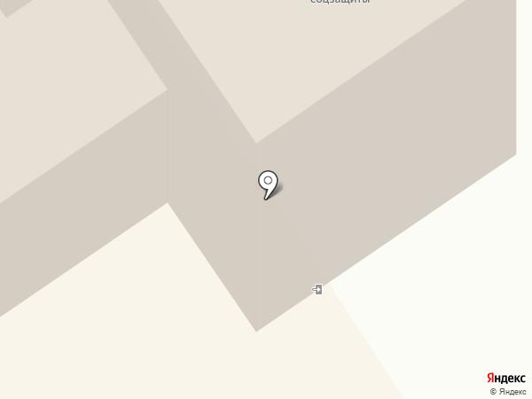 Центр социальной работы г. Петрозаводска на карте Петрозаводска