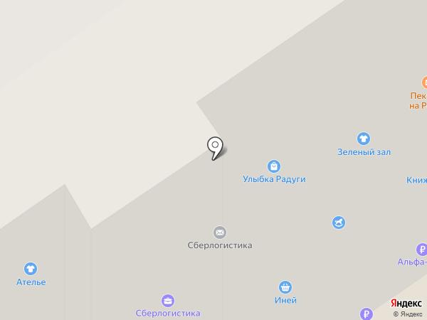 Лаума на карте Петрозаводска