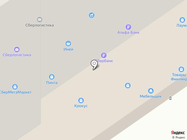 Мобильный на карте Петрозаводска
