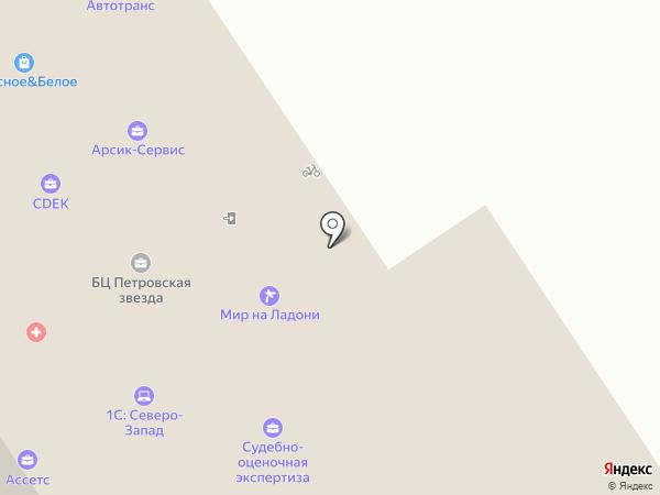 Хиткабина на карте Петрозаводска