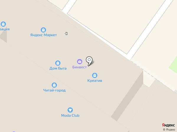 Клубный квартал Гринвуд на карте Брянска