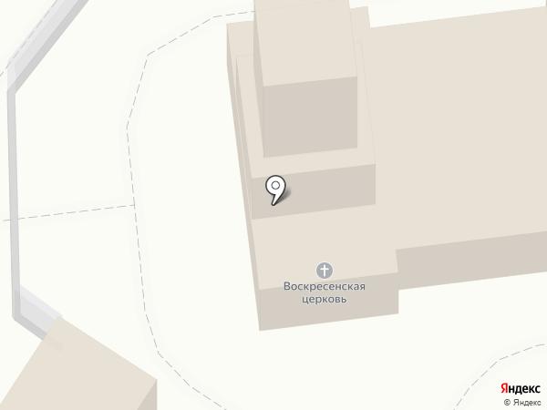 Церковь Воскресения Христова на карте Брянска